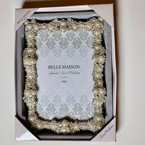 Belle Maison Jeweled 4x 6 photo frame